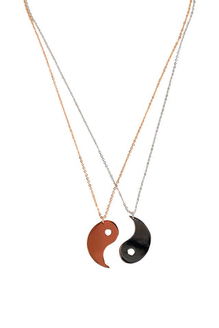 Kids Yin Yang Necklace 2pk