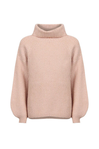 Kids Oversized Roll Neck Knit
