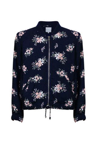 Kids Print Bomber Jacket