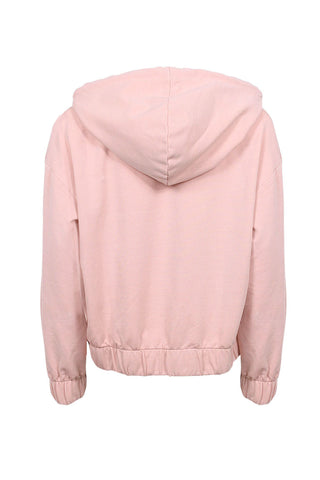 Kids Cropped Hooded Sweat