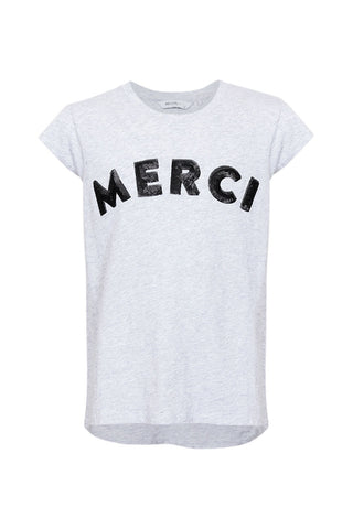 Kids Merci Sequin Text Tee