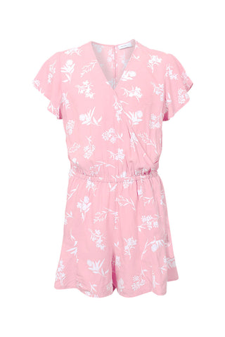 Kids Floral Print Playsuit