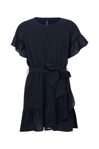 Kids Wrap Tie Dress