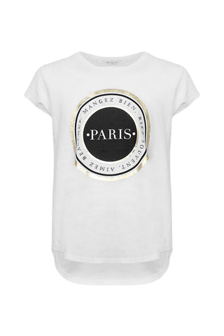 Kids Paris Medallion Tee