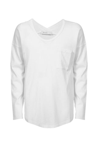Kids Long Sleeve Slouch Tee