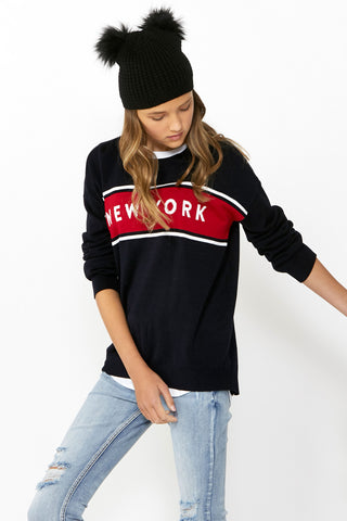 Kids New York Pullover Knit