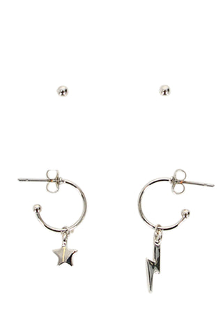 Kids Star Lightning Earrings