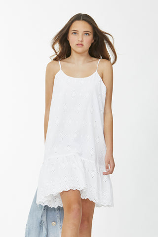 Kids Nessa Broderie Dress