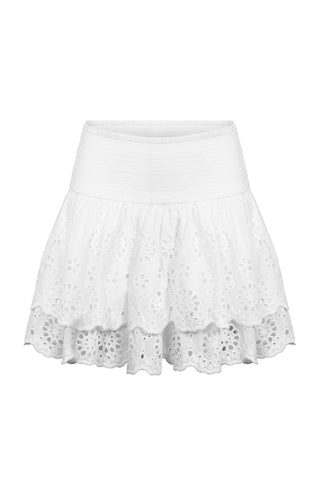 Kids Skye Broderie Skirt