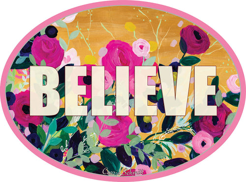 BELIEVE Sticker