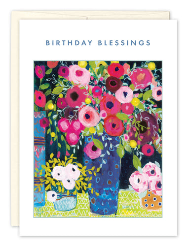 Birthday Card: BIRTHDAY BLESSINGS