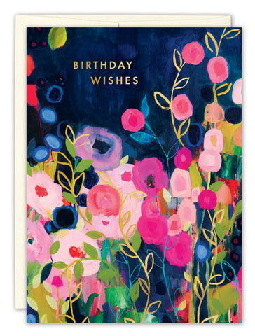 Birthday Card: BIRTHDAY WISHES