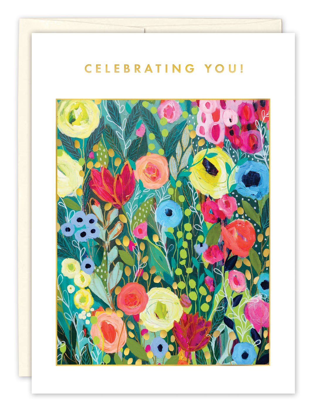 Birthday Card: CELEBRATING YOU!