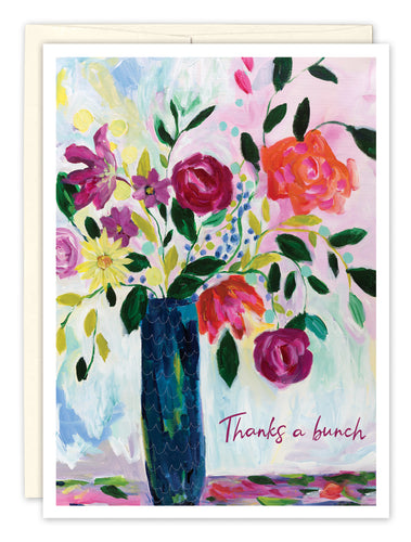 Thank You Card: THANKS A BUNCH