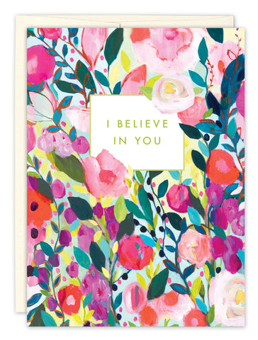 Encouragement Card: I BELIEVE IN YOU