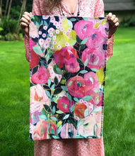 Load image into Gallery viewer, Floral Tea Towel