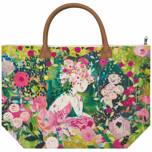 Rosabella Canvas Tote Bag
