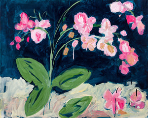 Sweet Orchid Original Art