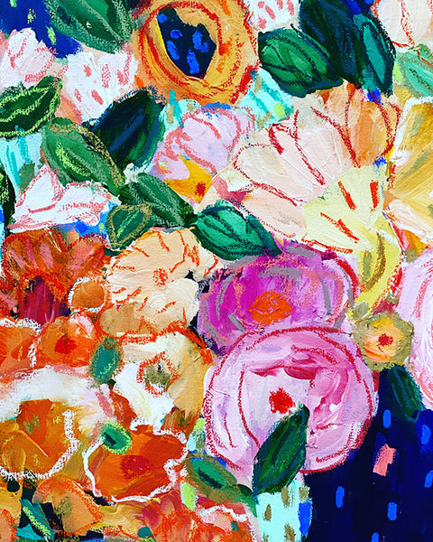 OIL PASTELS SAVE THE DAY! Online Class