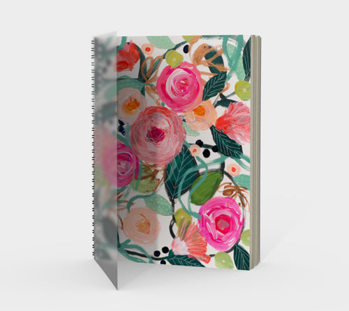 Smile Spiral Bound Journal