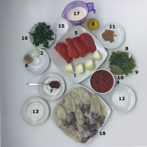 Thermomix calamari ingredients