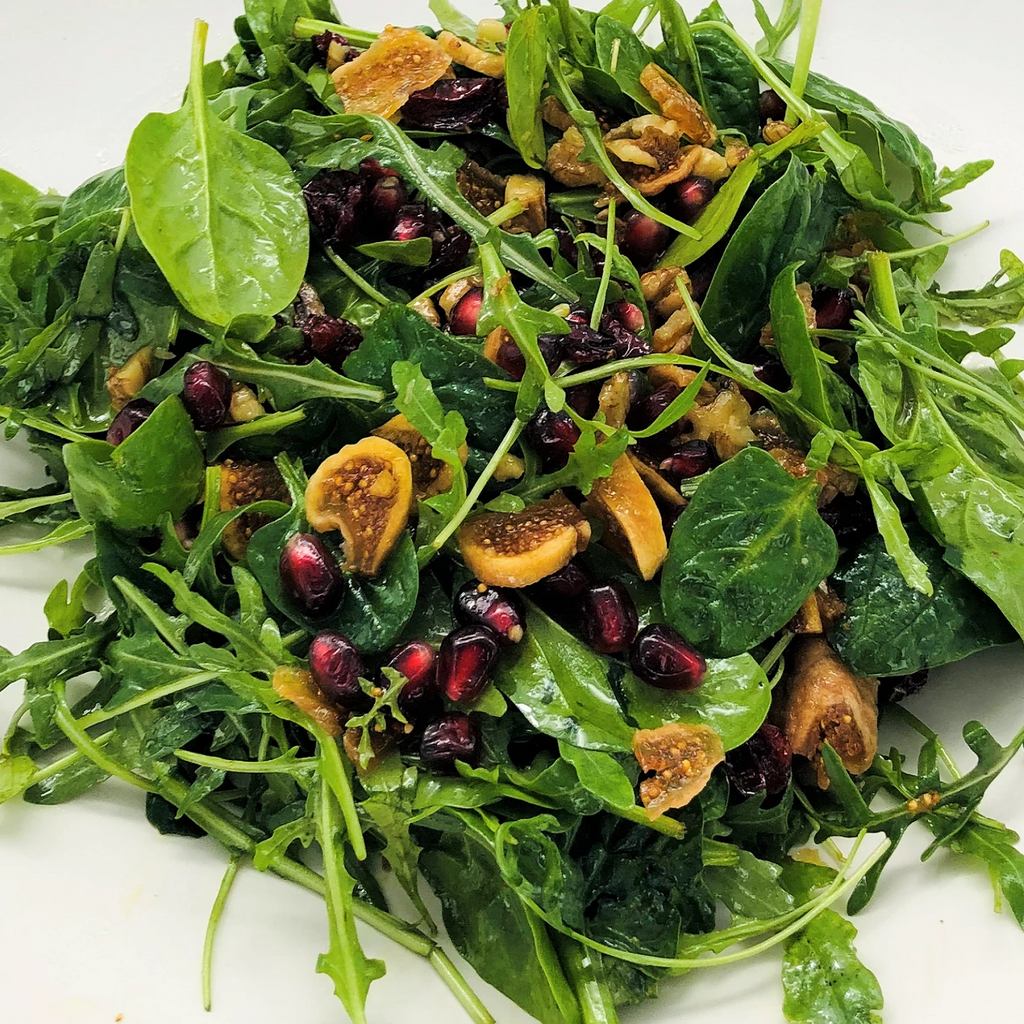 5' Salad with Dried Figs per person - Vegetarian