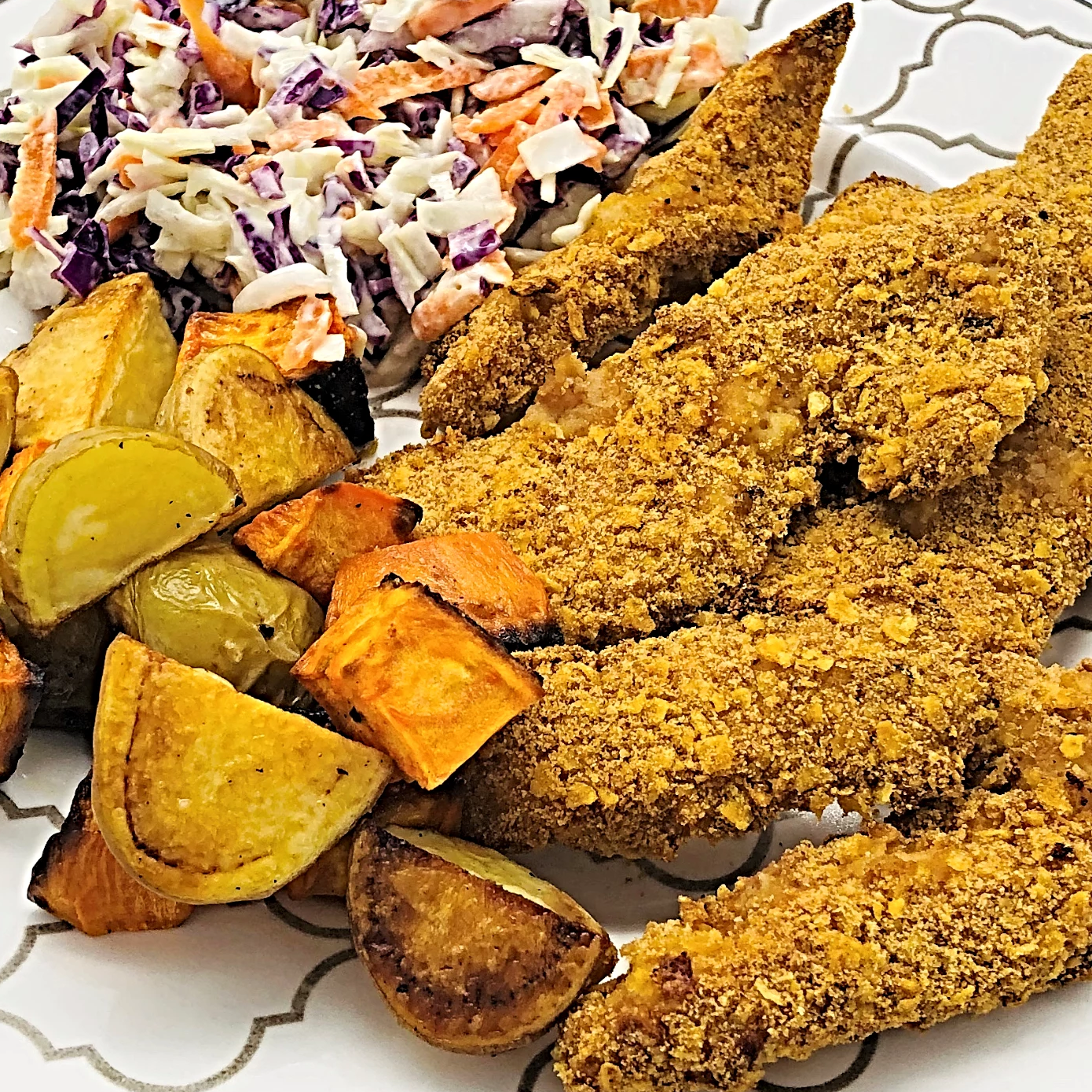 30' Chicken Tenders With Potatoes & Veg per person - Kids