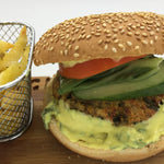25΄ Chicken Burger per person