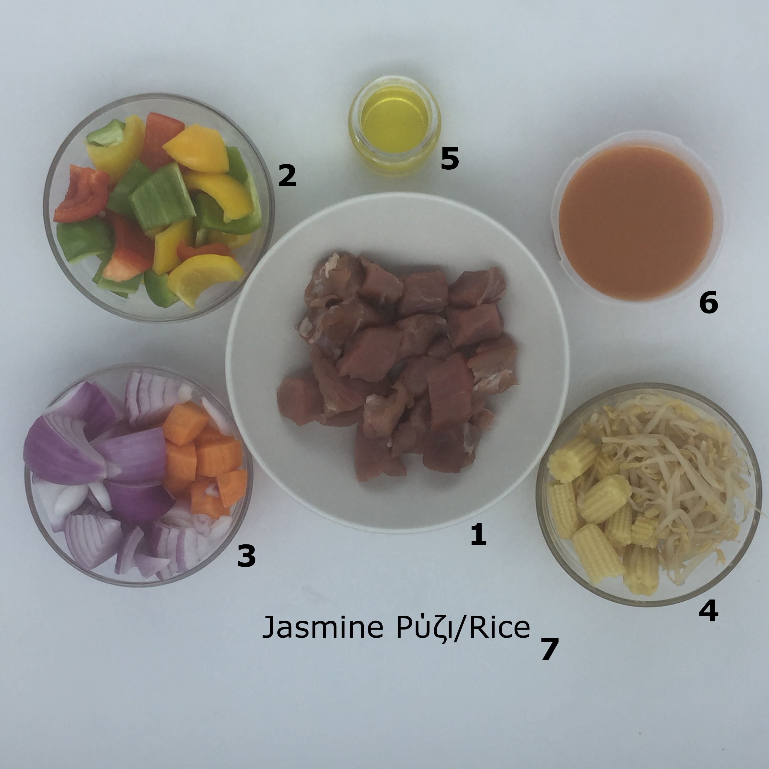 Familychef sweet and sour pork ingredients