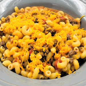 15' Pasta With Minced Beef & Cheese  per person - Kids
