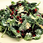 Salad With Pomegranate & Cottage Cheese - Ready to Enjoy