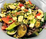 Familychef Grilled Vegetables Salad with or without Halloumi