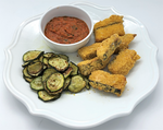 Familychef 25' Fresh Salmon Fish Sticks & Zucchini plate - Kids