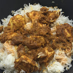 Familychef Indian Chicken  Curry plate