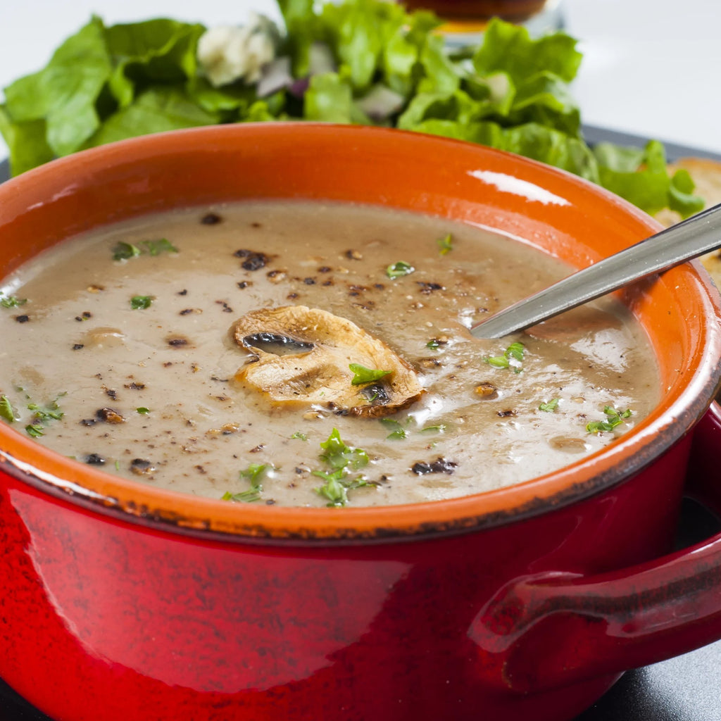 Mushrooms Soup - Ready To Enjoy