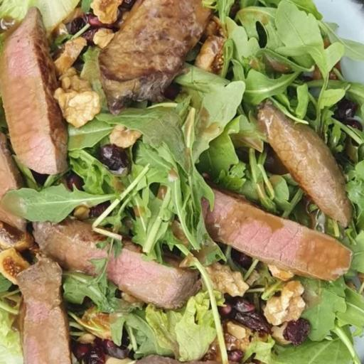 Uruguayan Eye Round Steak Salad - Ready To Enjoy