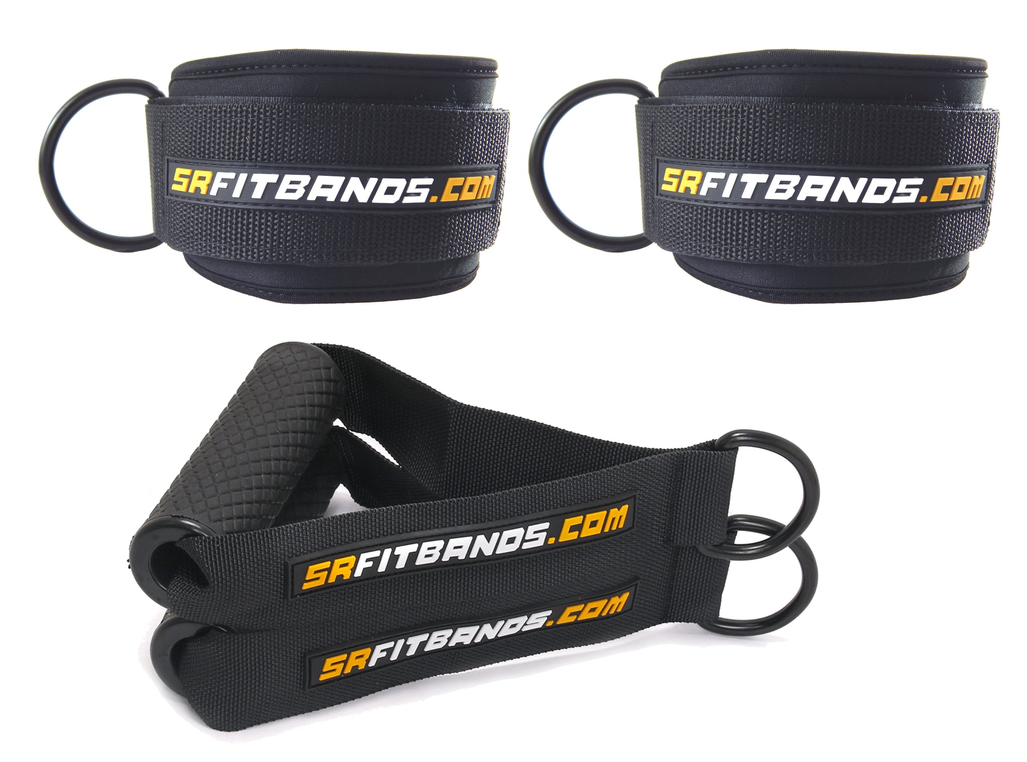 Training Accessory Kit | 2 Professional Grade Ankle Cuffs and 2 ...