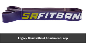 "Purple SR Fit Legacy Band - Single 41"" Resistance band (35-85 lbs)"