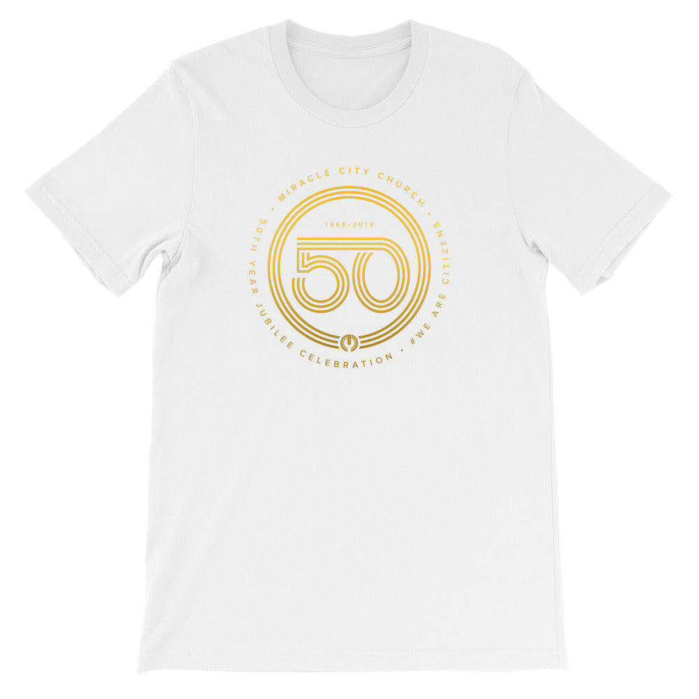 50th Year of Jubilee Short-Sleeve Unisex T-Shirt