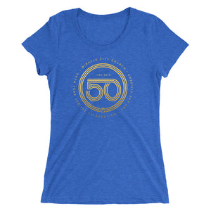 50th Year of Jubilee Ladies' Short Sleeve T-shirt