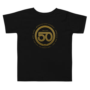 50th Year of Jubilee Toddler Short Sleeve Tee