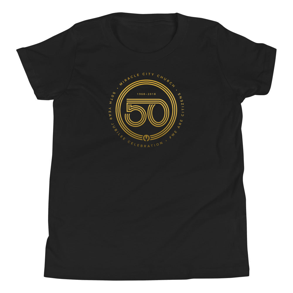 50th Year of Jubilee Youth Short Sleeve T-Shirt