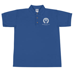 Miracle City Embroidered Men's Polo Shirt