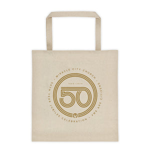 50th Year of Jubilee Tote bag