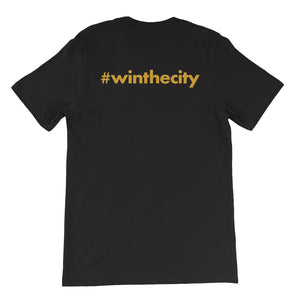 #WINTHECITY Short-Sleeve Unisex T-Shirt