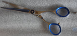 Walda Professional Razor Edge Silver Sharp Cut Scissors Wic-R-799