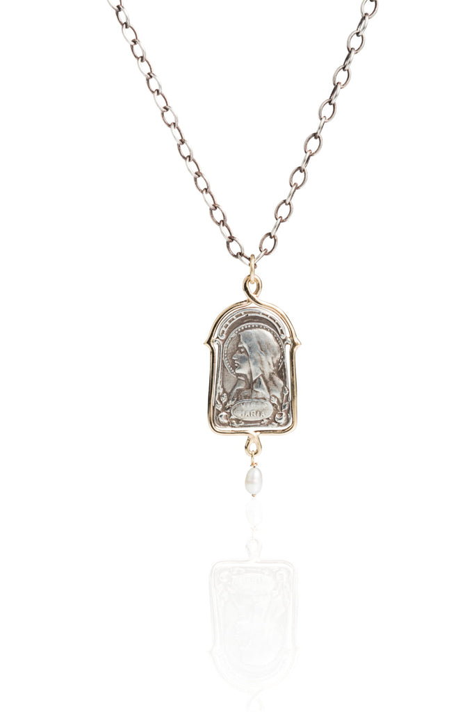 Virgo Maria Necklace | Blessed Mother