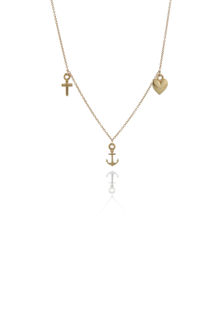 Faith Hope and Charity Necklace