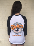 "Sliders ""Boh Before You Go"" 3/4 Sleeve T-Shirt in White - Unisex"