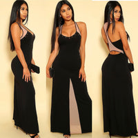 All Me Colorblock Maxi Dress - DRESSES